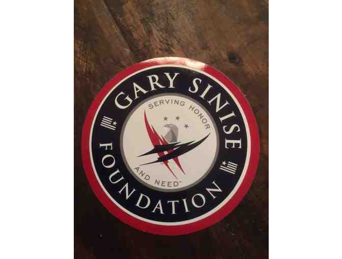 Gary Sinise Donates a Stellar Gift Bag Honoring Our Veterans!  Autographed! - Photo 3