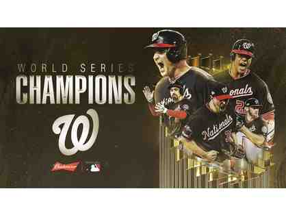 2019 World Series Winners! Washington Nationals Super Collectible Gift Basket!