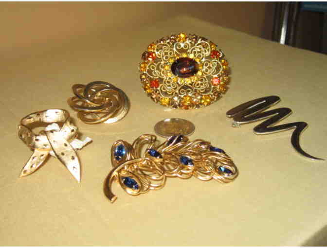 Costume Jewelry - pins
