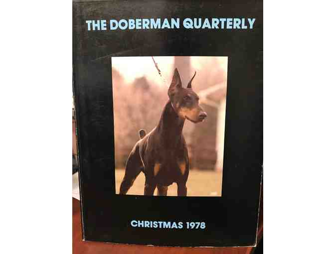 1978 CHRISTMAS DOBERMAN QUARTERLY
