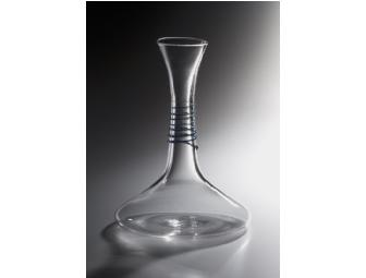 Your Wine Will Taste Better And Look Better Too! Epiphany Glass Wine Decanter - Photo 1