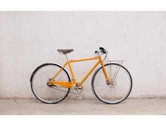 "Brand New Made In Detroit Deluxe Shinola ""Runwell"" Urban Street Bicycle - Photo 1"