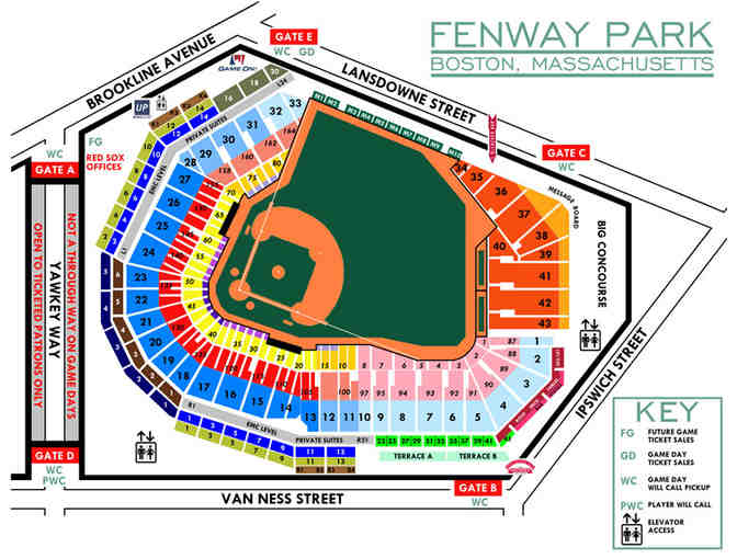 4 Boston Red Sox Field Box Tickets for Saturday, April 15th - Photo 2
