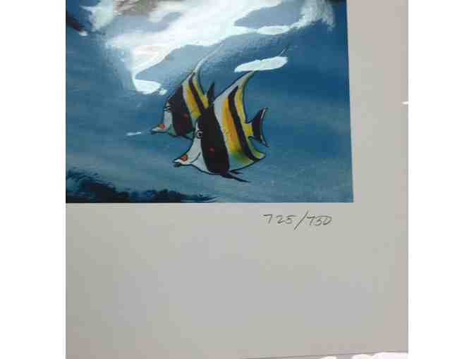 Celebrating The Sea - Signed and # Limited Edition Lithograph by Renowned Artist Wyland - Photo 2