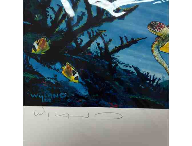 Celebrating The Sea - Signed and # Limited Edition Lithograph by Renowned Artist Wyland - Photo 3