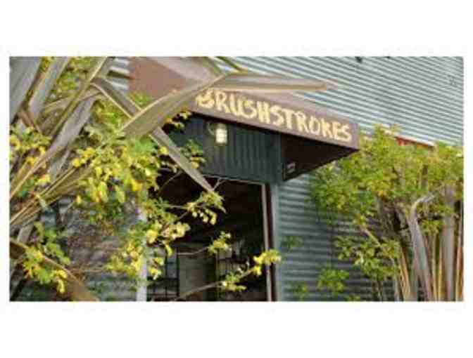 Gift Certificate for Five Visits to Brushstrokes Studio in Berkeley