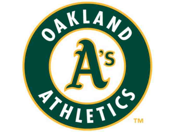 Four Tickets & Parking Pass to Oakland A's 2017 Home Game & Strapback Cap