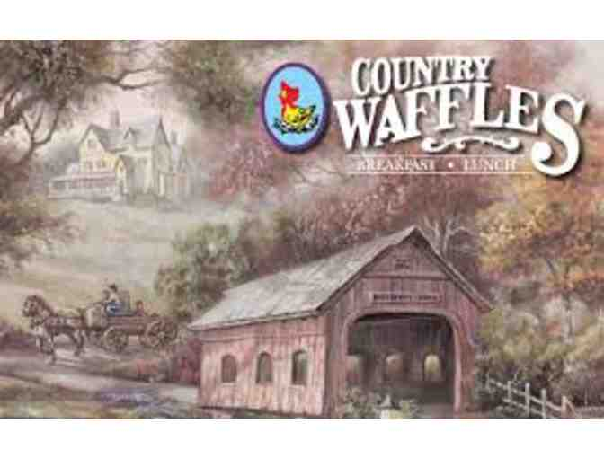 Gift Certificate for Country Waffles