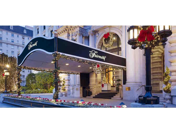 One Night Stay and Breakfast for Two at Fairmont San Francisco