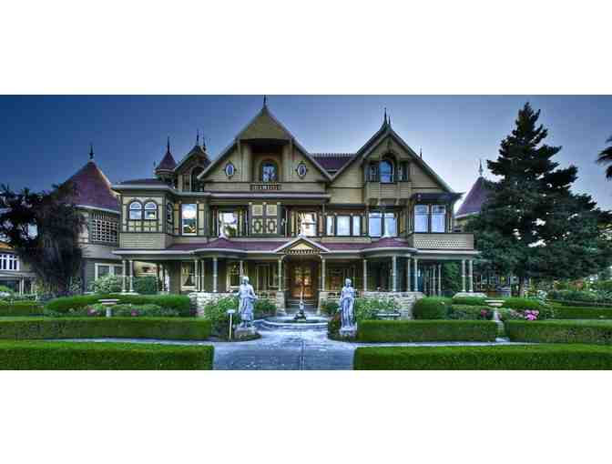 Two Tickets for Winchester Mystery House Mansion Tour in San Jose