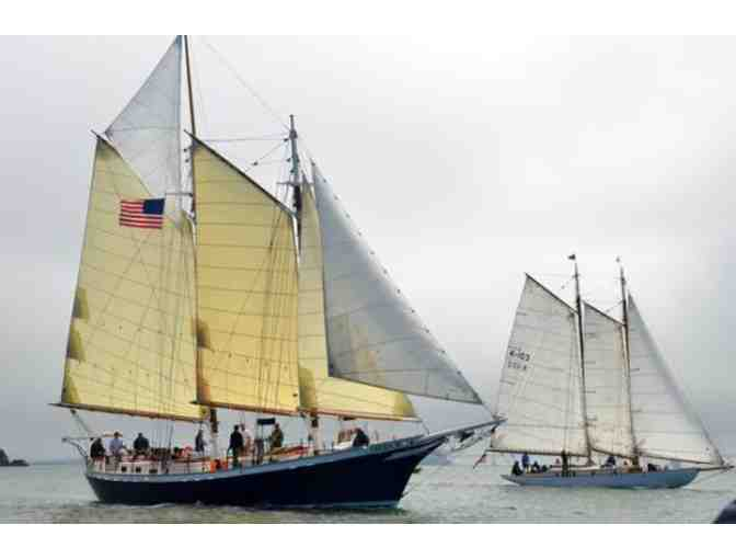 Two Tickets to Sail on the Schooner Freda B. with SF Bay Adventures