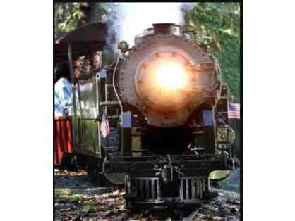 Four (4) Tickets to Steam Trains at Sonoma Train Town