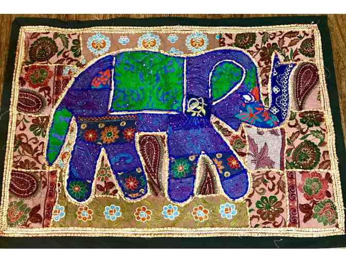 Asian Elephant Wall Hanging