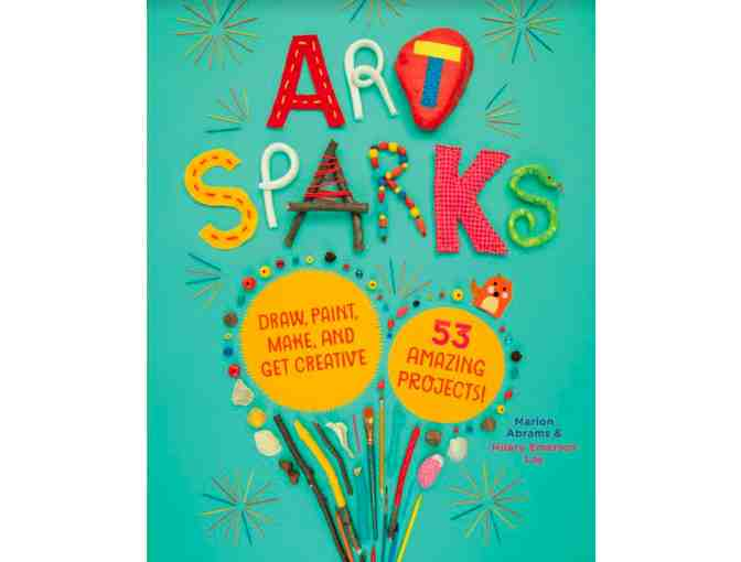 'Art Sparks' Book - Signed by authors + Coloring Book & Markers