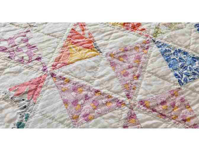 1930's Hand-Sewn Quilt - Photo 4