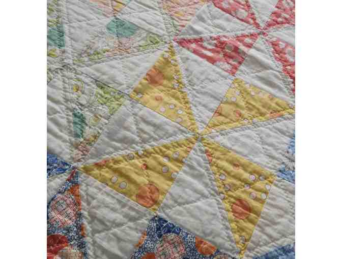 1930's Hand-Sewn Quilt - Photo 5