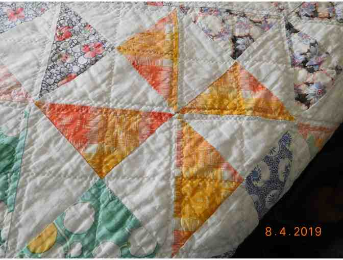 1930's Hand-Sewn Quilt - Photo 6