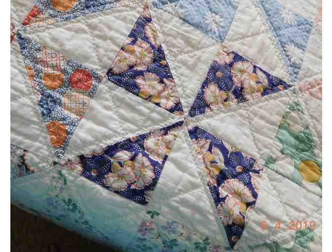 1930's Hand-Sewn Quilt - Photo 7