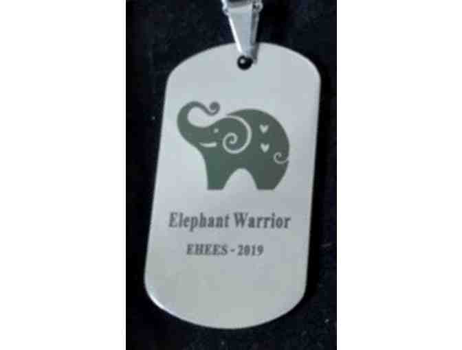 Custom Elephant Warrior Necklace + EHEES Tote - LIMITED