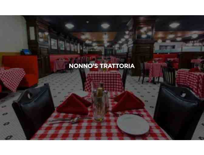 Dinner for 2 at Empire City Casino's Nonna's Trattoria Restaurant