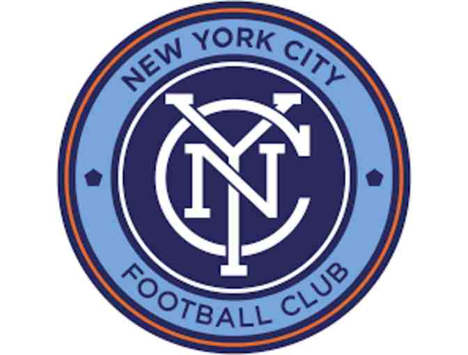 4 pitch-side tickets to the 8/21 NYCFC game