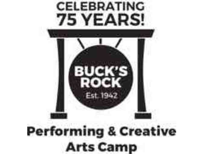 50% off one 4-week session at Buck's Rock Performing & Creative Arts Camp