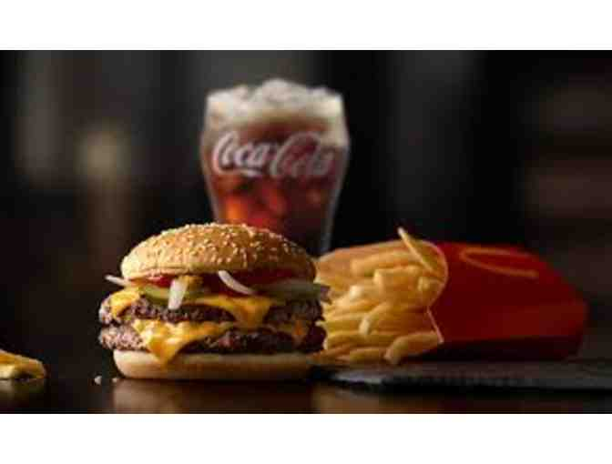 McDonald's- Basket of Fun #1 + CARDS for 12 Extra Value Meals & 10 McCafe's! - Photo 3