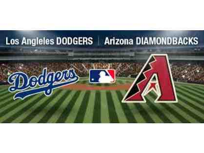 4 Dodger Tickets (vs. AZ Diamondbacks) + 2 Dodger Caps