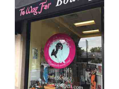 To Wag For - $50 Gift Certificate