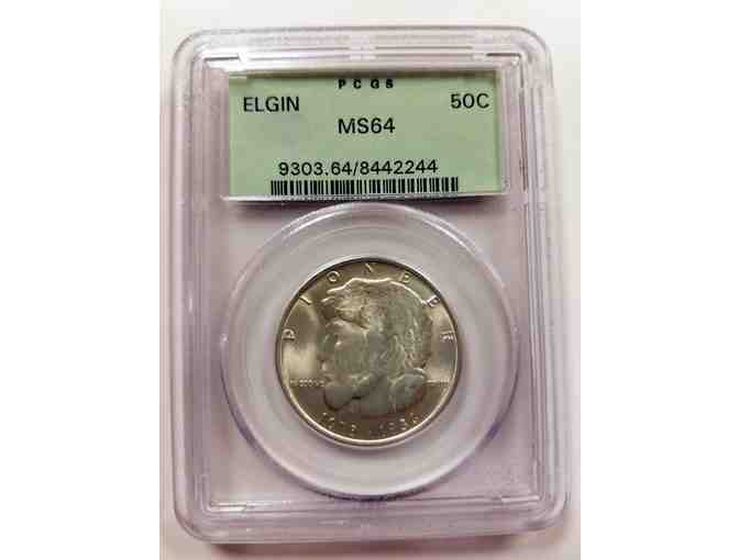 Elgin Commemorative Half Dollar