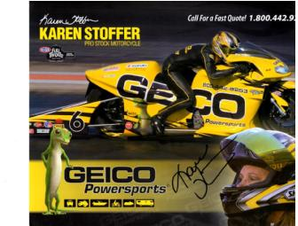 Autographed photo of Karen Stoffer
