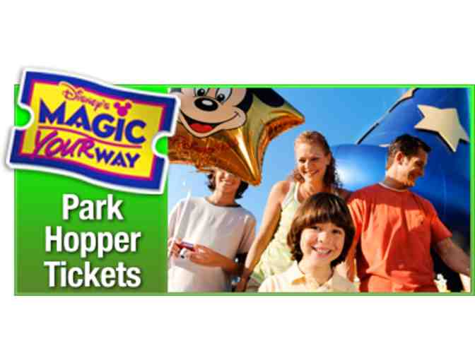 Four Disney World Park Hopper One Day Passes