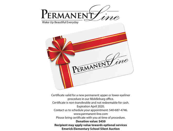 Permanent Eyeliner by Permanent Line