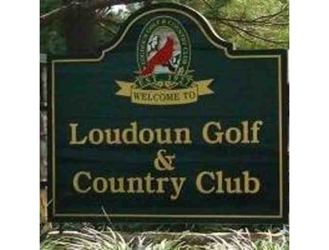 Golf for Foursome at Loudoun Golf and Country Club with Golf Cart