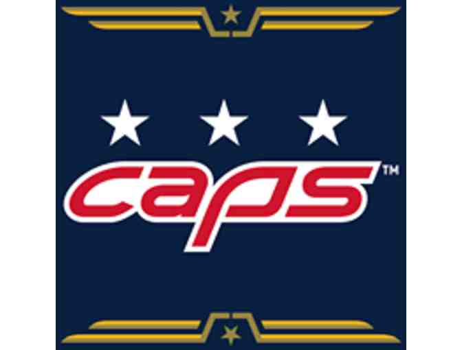 Four Center Ice Tickets to Washington Capitols