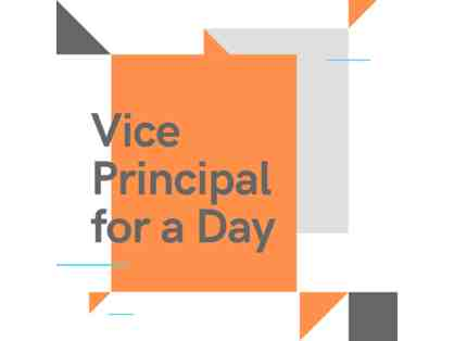 Vice Principal for a Day