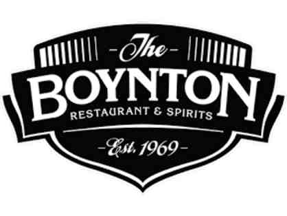 $25. Gift Card to Boynton Restaurant
