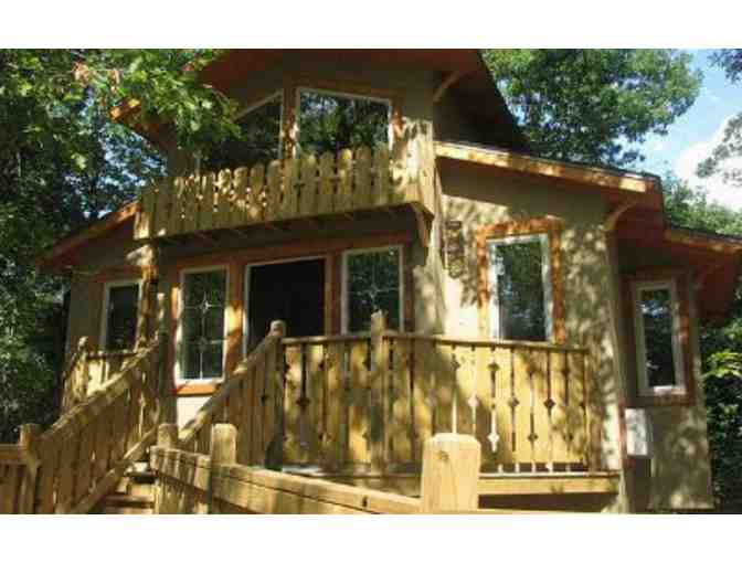 Two-Night Stay at The Grand Treehouse Resort and Two Tickets for Downtown-N-Underground