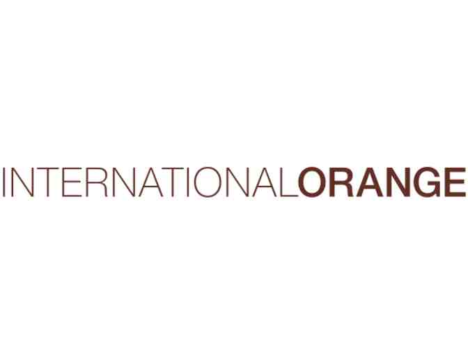 International Orange SPA: Gift Certificate