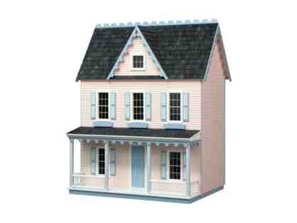 Authentic Replica Vermont Farmhouse Jr Dollhouse Kit by Real Good Toys.
