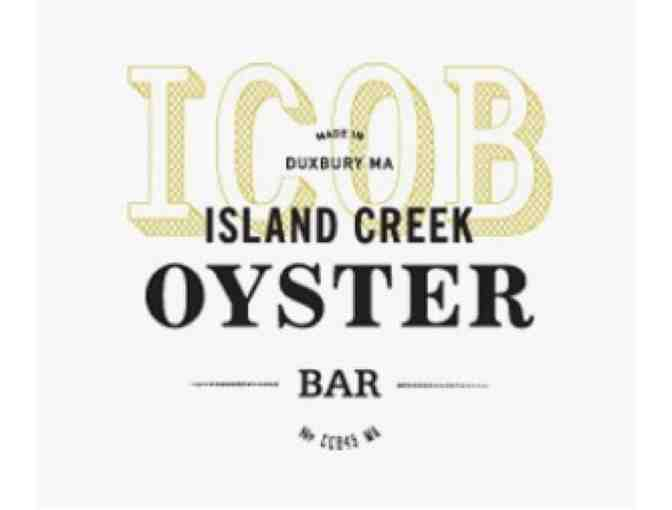 Island Creek Oyster Bar - $100 Gift Certificate - Photo 1