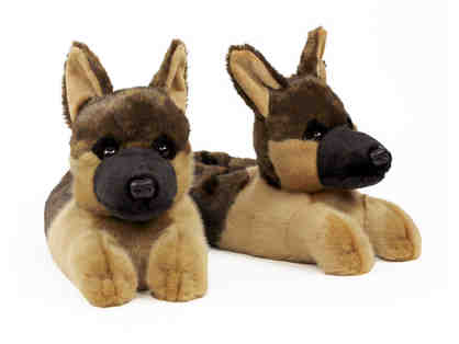 German Shepherd Slippers by Bunny Slippers