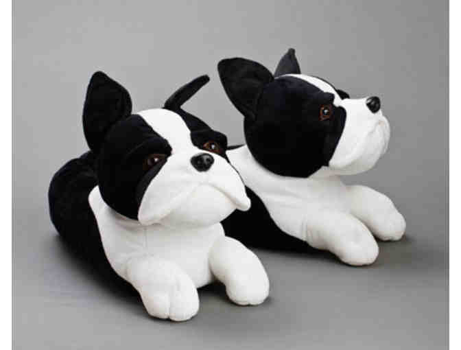 Boston Terrier Slippers by Bunny Slippers