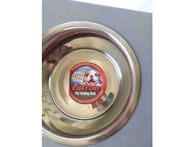 Ruff-n-Tuff stainless steel bowl