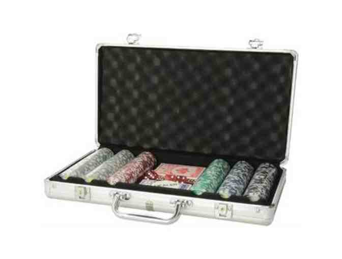 Poker Chip Set with Aluminum Case