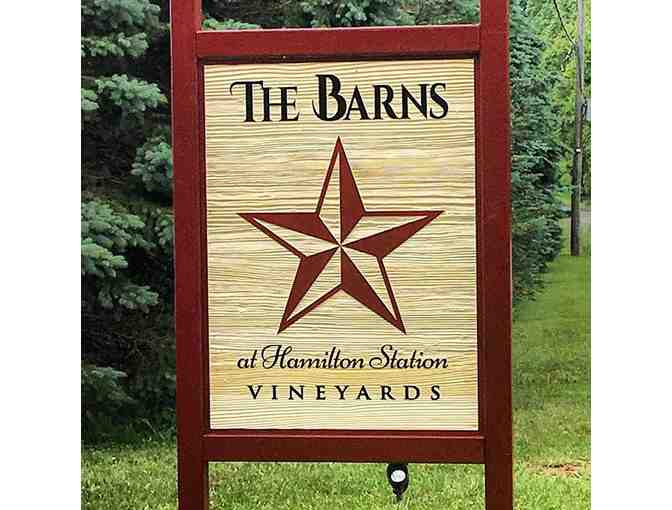 4 Complimentary Tastings and 4 logo glasses at The Barns at Hamilton Station