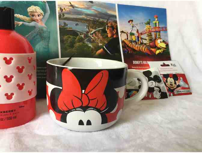Disney Collectibles Basket and Gift Card