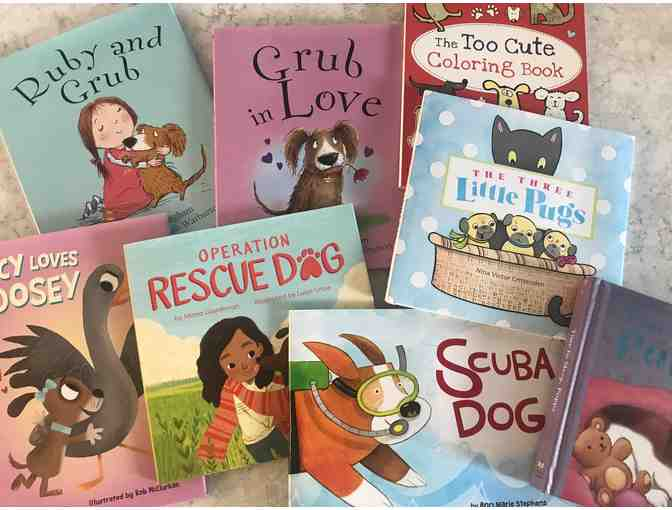 Book Bundle of 8 dog-themed kids' books from Bonnier Publishing USA