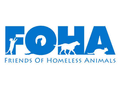 FOHA Merchandise Goody Bag and gift certificate