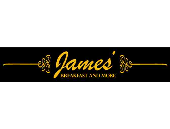 $30 Gift Card to James' Breakfast and More - Photo 1